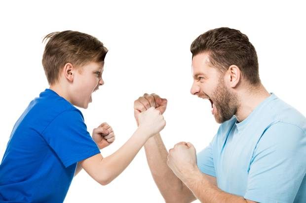 My husband and son fight dreadfully