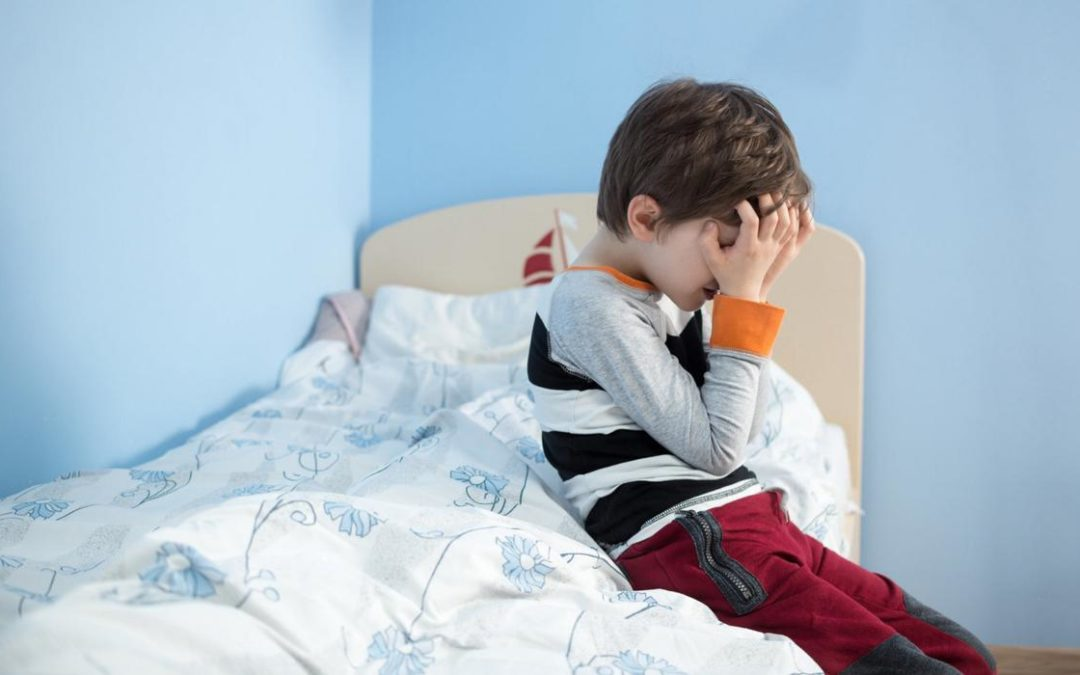 I want to wean my four-year-old son off co-sleeping