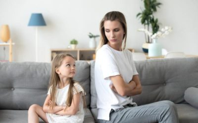 My daughter's whinging really winds me up. How can I help her to stop?