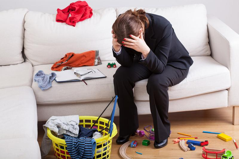 I can't balance working from home and childcare