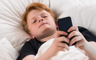 My son has a secret second phone that he uses at night